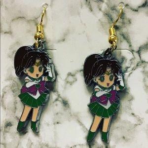 Sailor Jupiter metal earrings